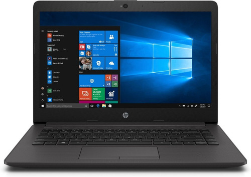notebook hp 245 g7 amd a4 9125 14 8gb 500gb win10 cuotas