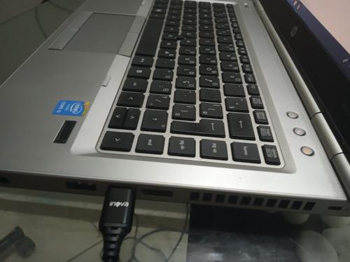 notebook hp 8460p, 500hd, core i5, 3gb de memória,windows 10