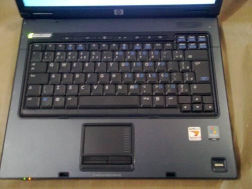 notebook hp amd turion 64- x2 mem 1 giga, hd100 fonte