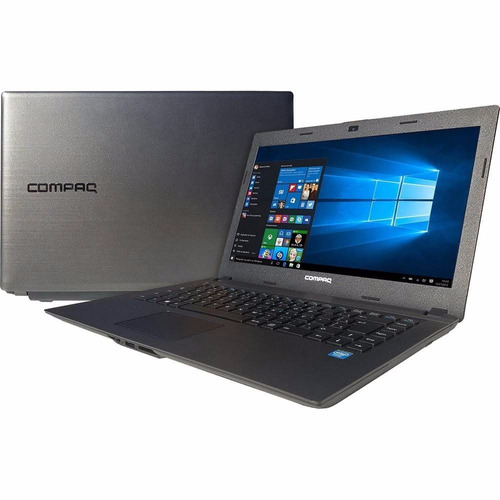 notebook hp compaq cq23 celeron 4gb 500gb windows 14'' led