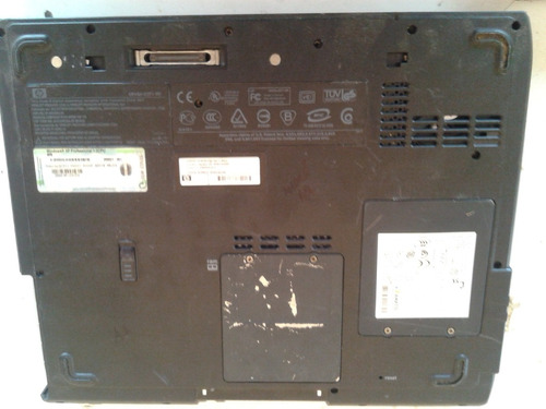 notebook hp compaq nx9005 - no estado