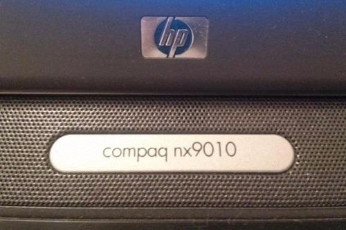 notebook hp compaq nx9010