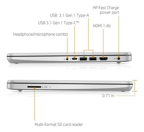 notebook hp core i5 1035g1 ssd 256gb 8gb + 16gb optane 14'