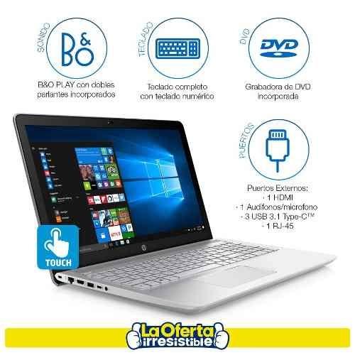 notebook hp core i7 táctil 12gb 1tb win10 1 año gtia loi