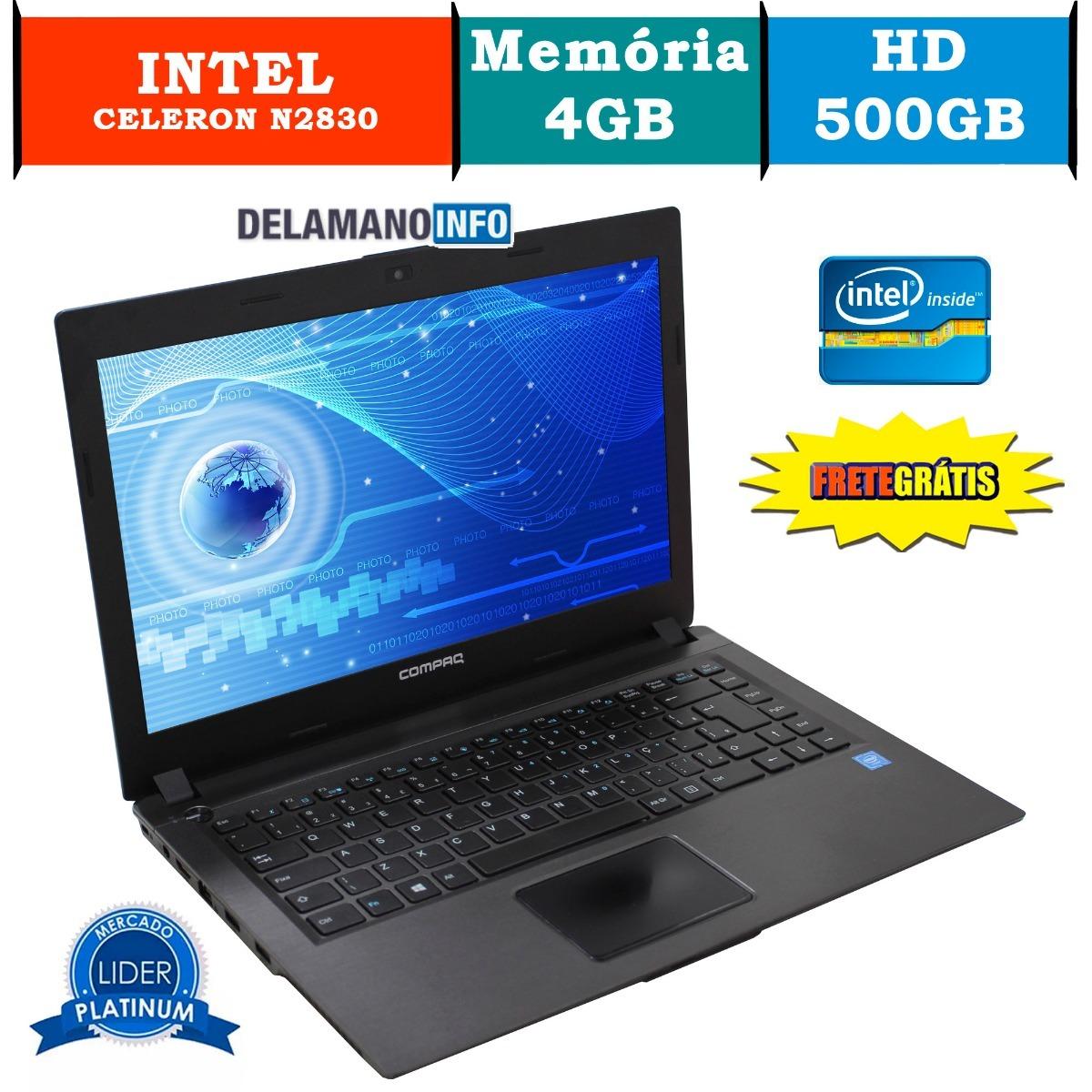 Notebook Hp Ddr3 Windows 10 Celeron 4gb 500gb Promo 11059 R Laptop Carregando Zoom
