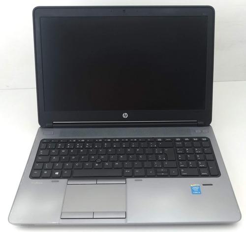 notebook hp elitebook 840 g1 i5 4ª ger 4gb hd500 c/ nfe