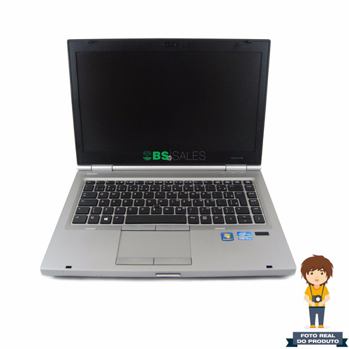 notebook hp elitebook 8470p intel i5 2.6g, 4g, 250g - avaria