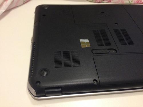 notebook hp envy m6, 6gb, 1 tb, tela 15,6  slim