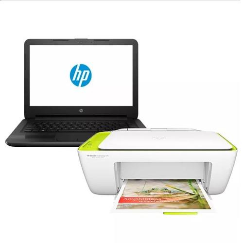 notebook hp g5 240 core i3 4gb 1tb hdmi + impresora hp 2135