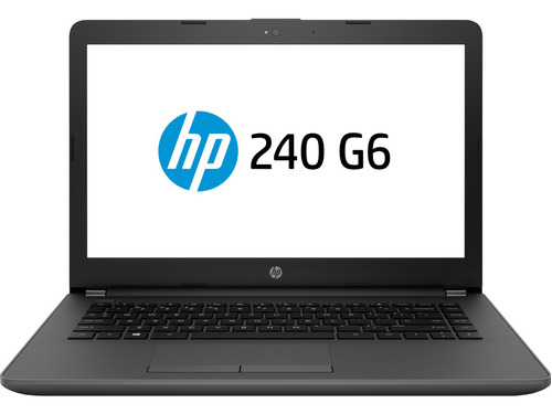 notebook hp g6 240 14 celeron 4gb 500gb freedos 6 cuotas