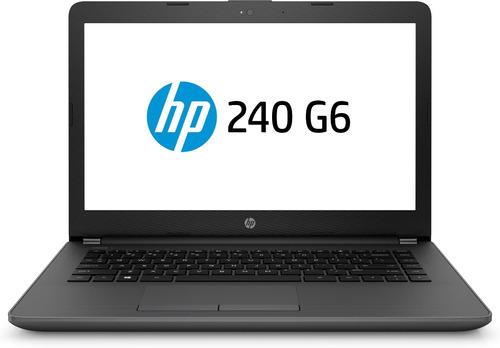 notebook hp g6 240 intel celeron 4gb 500gb dvdrw bt 12 cuota