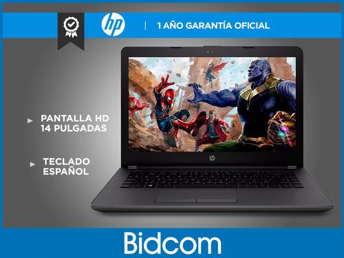 notebook hp g6 240n 14,1 intel i3 7020u 4gb 1tb ñ hot sale!