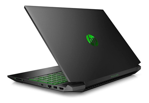 notebook hp gamer 15.6' ryzen 5 256ssd 8gb gtx1050 win10 loi