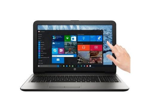 notebook hp i3 táctil hd 15,6 8gb/1tb win 10 gtía env gratis
