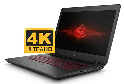 notebook hp i7 4k uhd 3840x2160 ssd+hdd gtx 4gb omen gamer