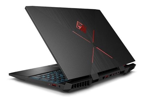 notebook hp omen 15-dc0006la  intel core i7 8gb ram 1tb w10