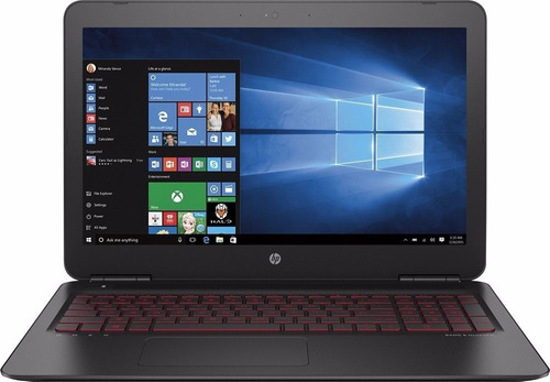 notebook hp omen core i7 32g 2tb gtx 1050 4g tela 15.6 fhd