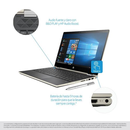 notebook hp pavilion x360 14-cd0011la i5 4gb 500gb win 10