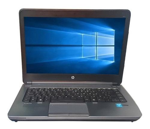 notebook hp probook 640 g1 i5 4ª 4gb 500gb recertificado