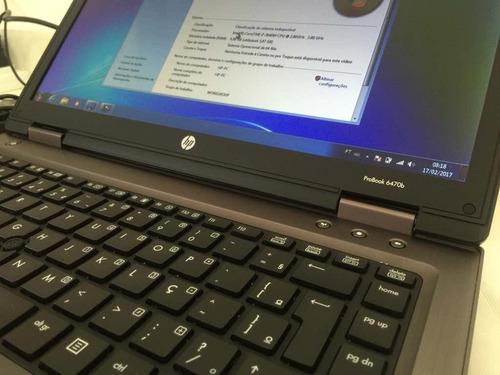 notebook hp probook 6460b core i5  4gb hd 320gb