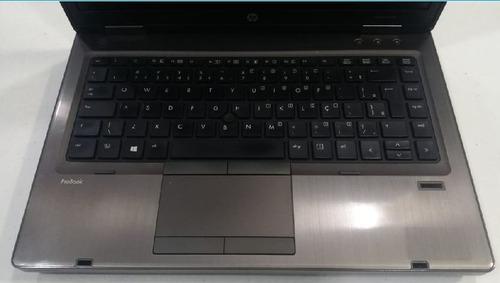 notebook hp probook 6460b i5 2ª 320gb 4gb led 14' seminovo