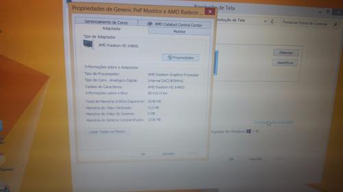 notebook hp probook 6465b gamer video dedicada 512mb 8gb