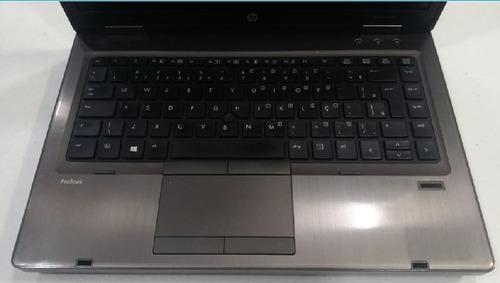 notebook hp probook 6470b i5 3ª 320gb 4gb led 14' seminovo