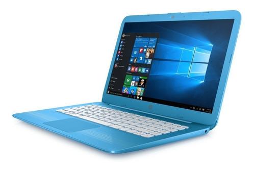 notebook hp stream 14-ax032la celeron 4gb 32gb windows 10 tienda oficial hp