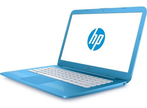 notebook hp stream 14 tela 14'' 4gb/32gb w10 + cartão sd 32g