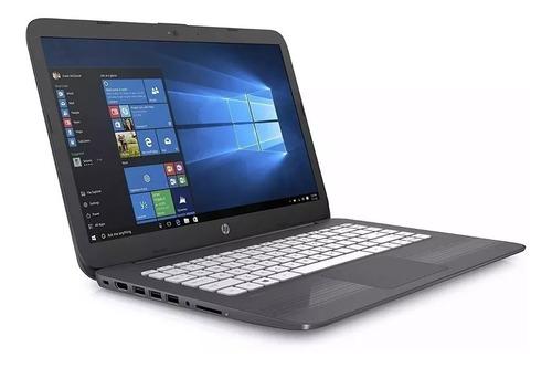 notebook hp stream laptop 14 4gb 32gb  w10+cartão sd 32gb