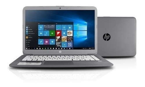 notebook hp stream n3060 1.6g 4gb ssd32 tela14 oferta cinza