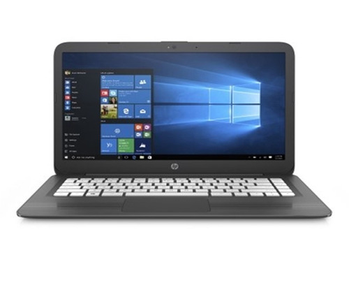 notebook hp stream new edition 14 4gb ram 64gb win10 - cinza