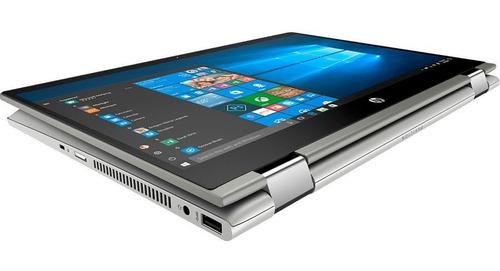 notebook hp x360 14' fullhd táctil i5 256ssd 8gb win10 loi