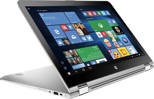 notebook hp x360 2 em 1 aq103 i5 16gb 128ssd+2tb 15.6 touch