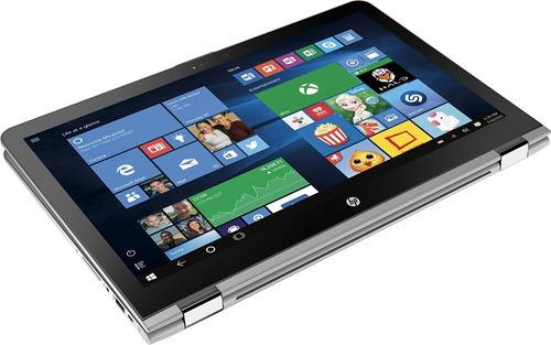 notebook hp x360 2 em 1 aq103 i5 16gb 256ssd+2tb 15.6 touch