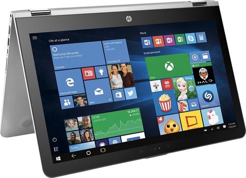 notebook hp x360 2 em 1 aq103 i5 16gb 512ssd+1tb 15.6 touch