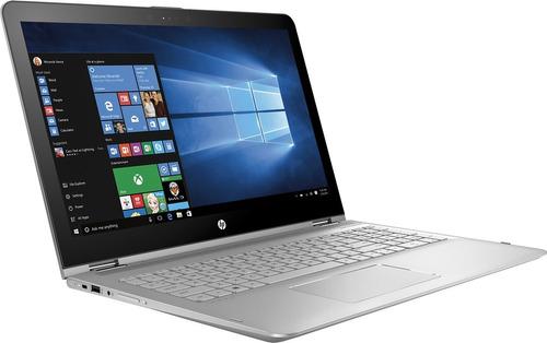 notebook hp x360 2 em 1 aq103 i5 32gb 128ssd+1tb 15.6 touch
