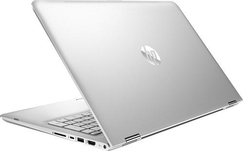 notebook hp x360 2 em 1 aq103 i5 8gb 128ssd+2tb 15.6 touch