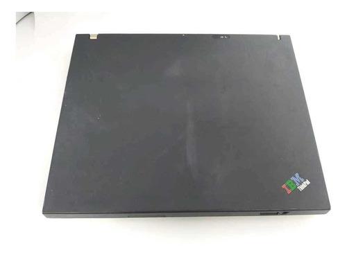 notebook ibm t42 pentium m  1.6ghz hd40gb saída paralela
