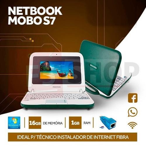 notebook ideal p/ técnico instalador internet fibra - 5 pc