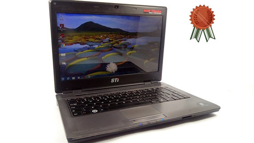 notebook intel 2.30ghz 160gb 3gb ótimo frete garantia 3386