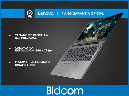 notebook intel dual core 4gb 500gb lenovo pantalla 15,6 hdmi