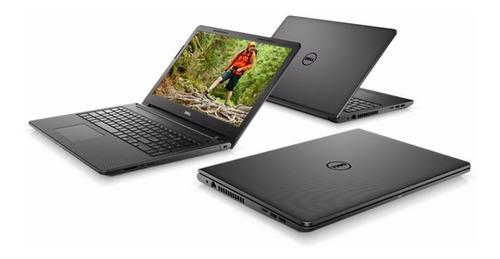 notebook laptop dell inspiron i3 8gb 1tb 15.6 win 10 teclado con ñ gtia de tienda oficial - factura a y b - ram