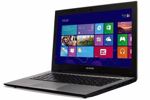 notebook led 14 ultra thin t345 core i3 500gb 4gb windows 8