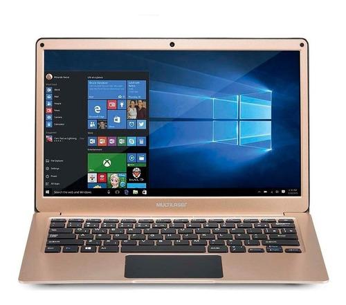 notebook legacy air intel windows 10 32gb multilaser - pc206