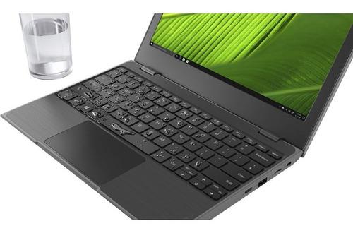 notebook lenovo 100e intel n4000 4g ssd 128g resistente agua
