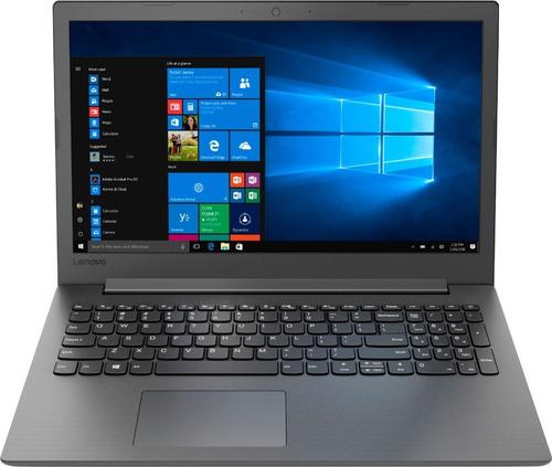 notebook lenovo 130 15ast 15.6  amd a6 4gb amd r4 500gb
