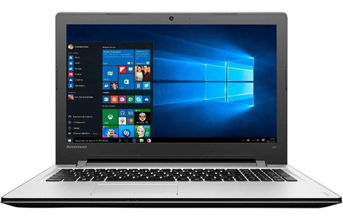 notebook lenovo 300-15isk core i5 4gb 1tb tela 15.6  w10