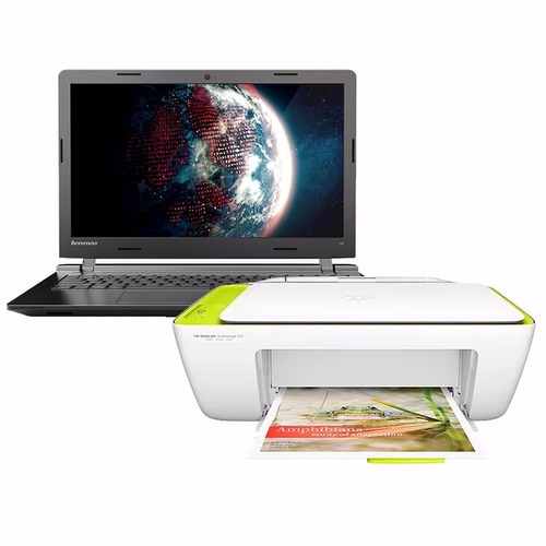 notebook lenovo core i3 8gb 500gb 15.6 windows 10 + hp 2135