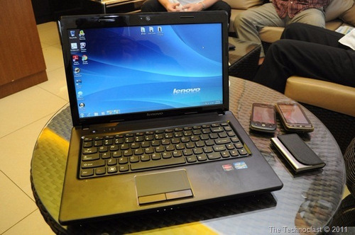 notebook lenovo g470 en desarme